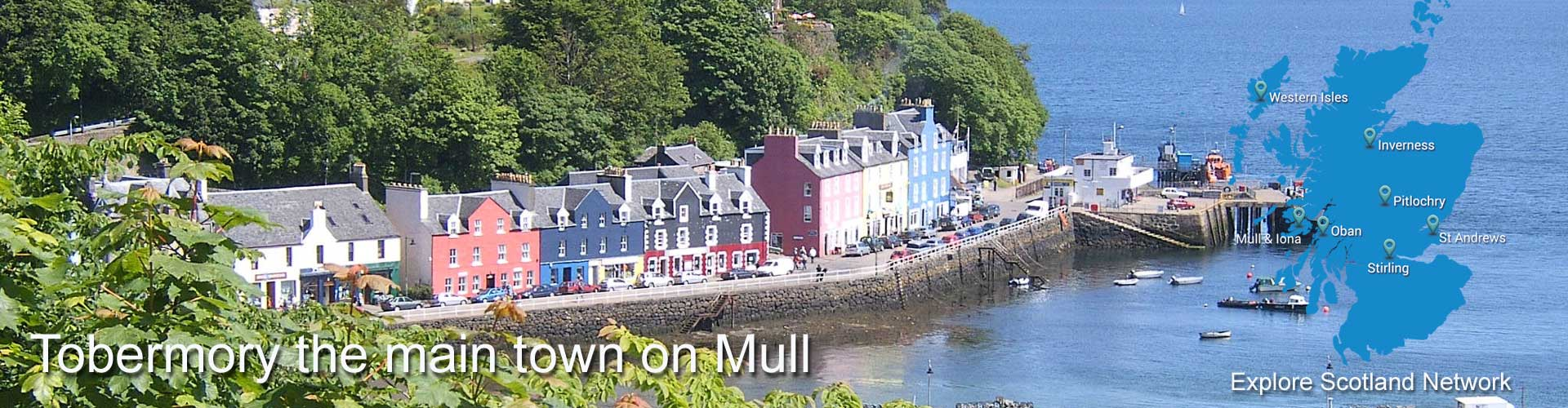 Tobermory Isle of Mull | Information about Tobermory on the Isle of