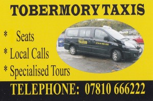 tobermory taxi