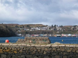 View to Tobermory from Aros Park