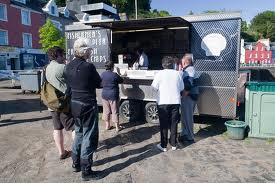 Tobermory Chip van