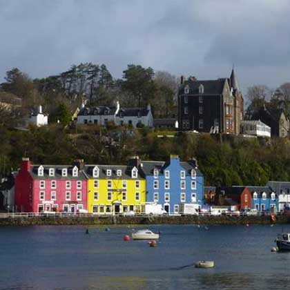 Where to stay in Tobermory Isle of Mull