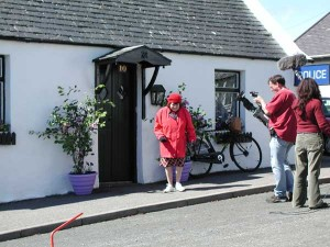 Balamory filming outside Miss Hoolies house