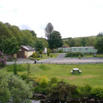 Camping in Tobermory Isle of Mull